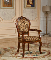 wholesale solid wood carved rustic weight dining chair wooden chair