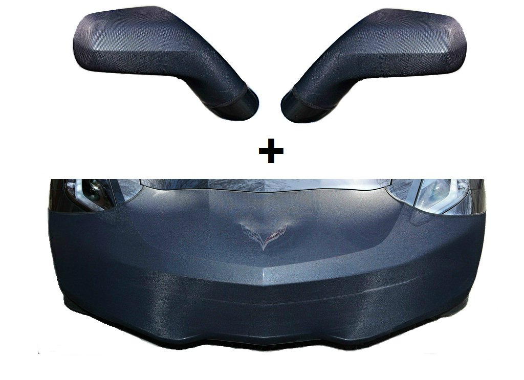 C7 Corvette Stingray Front Power Retractable Plate by Altec Fits NON-ZO6 and GS 2014 and Newer Corvettes