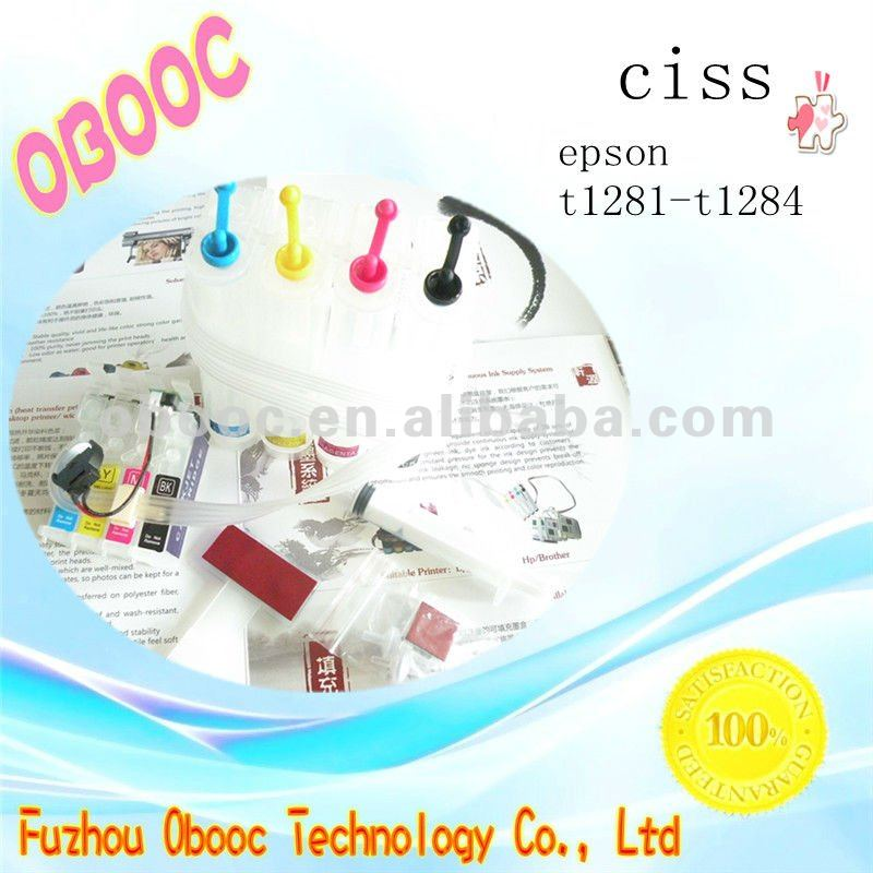 4 Colors Continuous Ink Supply System Inkjet Ciss For E pson SX435
