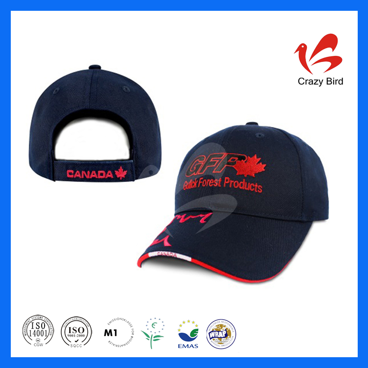 Top Quality Good Looking Comfortable Nice Cap On The Grade Crazy Bird American Baseball Cap With