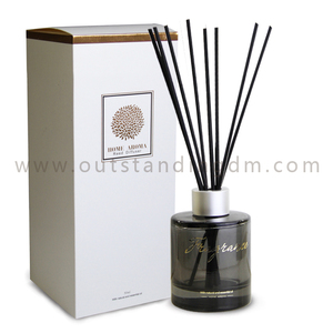 2018 Mini Order Fragrant New Style Gold Stamping Aroma Essential Luxury Reed Diffuser