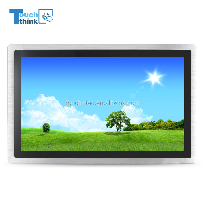 "OEM HD Widescreen 19"" TFT LCD Monitor Cheap 19.1 inch Led Sensitive Touch Screen Monitor"