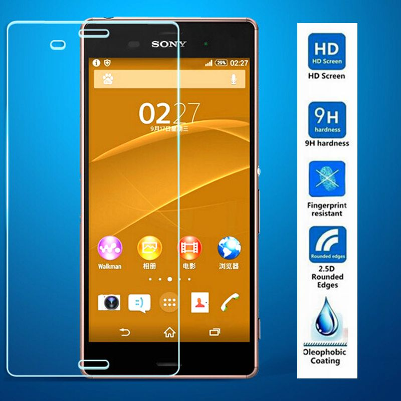 99 HD 0 3mm 9H Screen Protector 2 5D Tempered Glass Screen Protector Film Case For