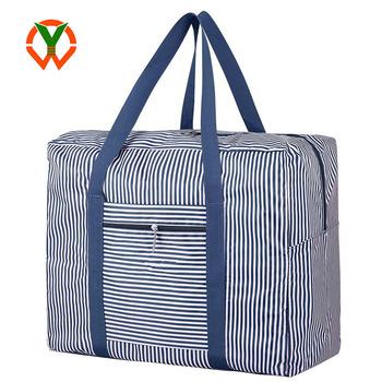 9cb90cb3d1 OEM Foldable Waterproof Travel Duffel Bag Large Capacity Carry on Tote Bag