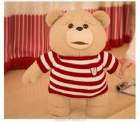 Bee Sitting Plush Teddy Bear Stuffed Toy / plush bear toys with Tshirt
