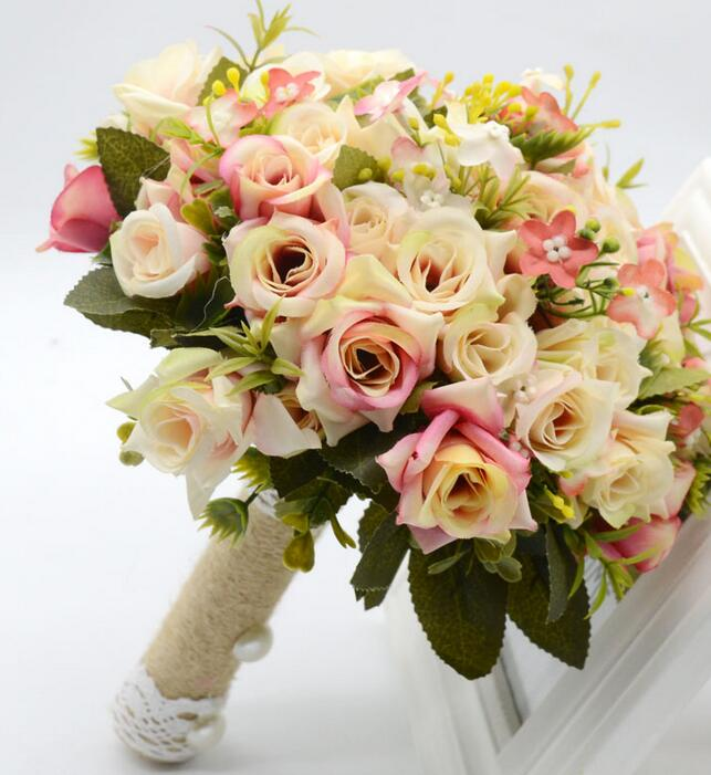 Wedding Bouquet Flowers Prices: Compare Prices On Rose Wedding Bouquet- Online Shopping