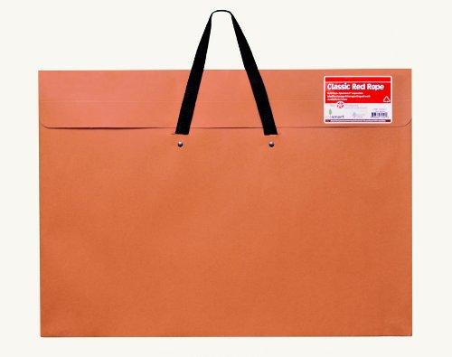 Star Products Art Portfolio 24 X 36, Classic Red Rope, Paper Artist Portfolio with Soft Woven Handle – Poster Storage, Art Storage