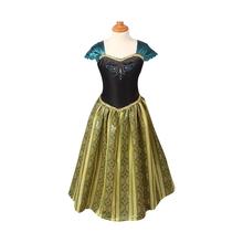 2016 Verão Girls Dress Elsa Anna Cosplay Vestido vestidos crianças princesa Vestidos Crianças Roupas Roupa Dos Miúdos Do Bebê