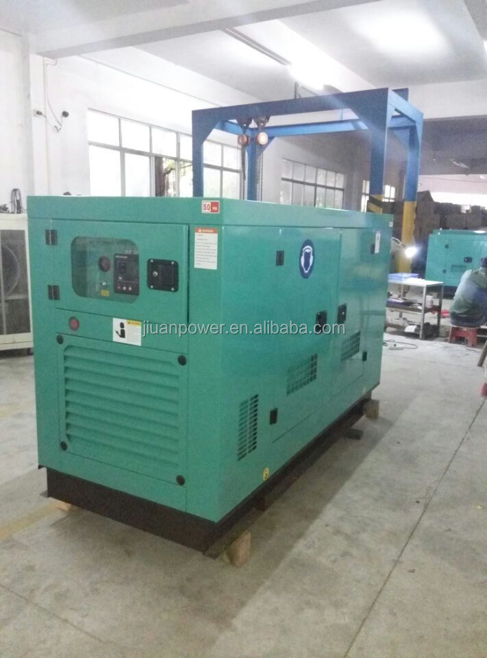 silent diesel power electric generator guangzhou price sale for diesel Electric Generator 220 Vac 35 kVA three-phase