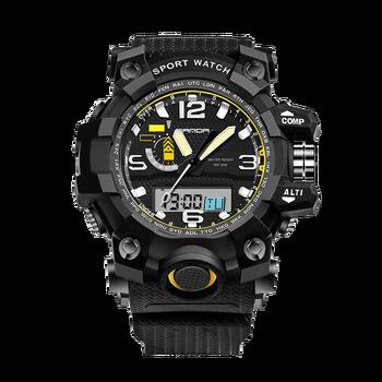 0f1f67dbe5cb Hombre de moda de Deporte Militar relojes nuevos SANDA relojes de los  hombres de la marca