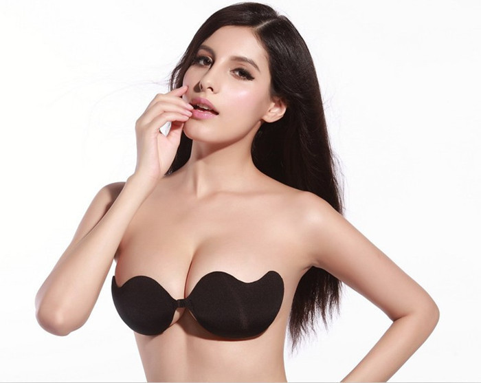 Push Up bras Strapless Adhesive bra Invisible sexs brassiere for women lingerie seamless bra backless Retail / Wholesale kll170