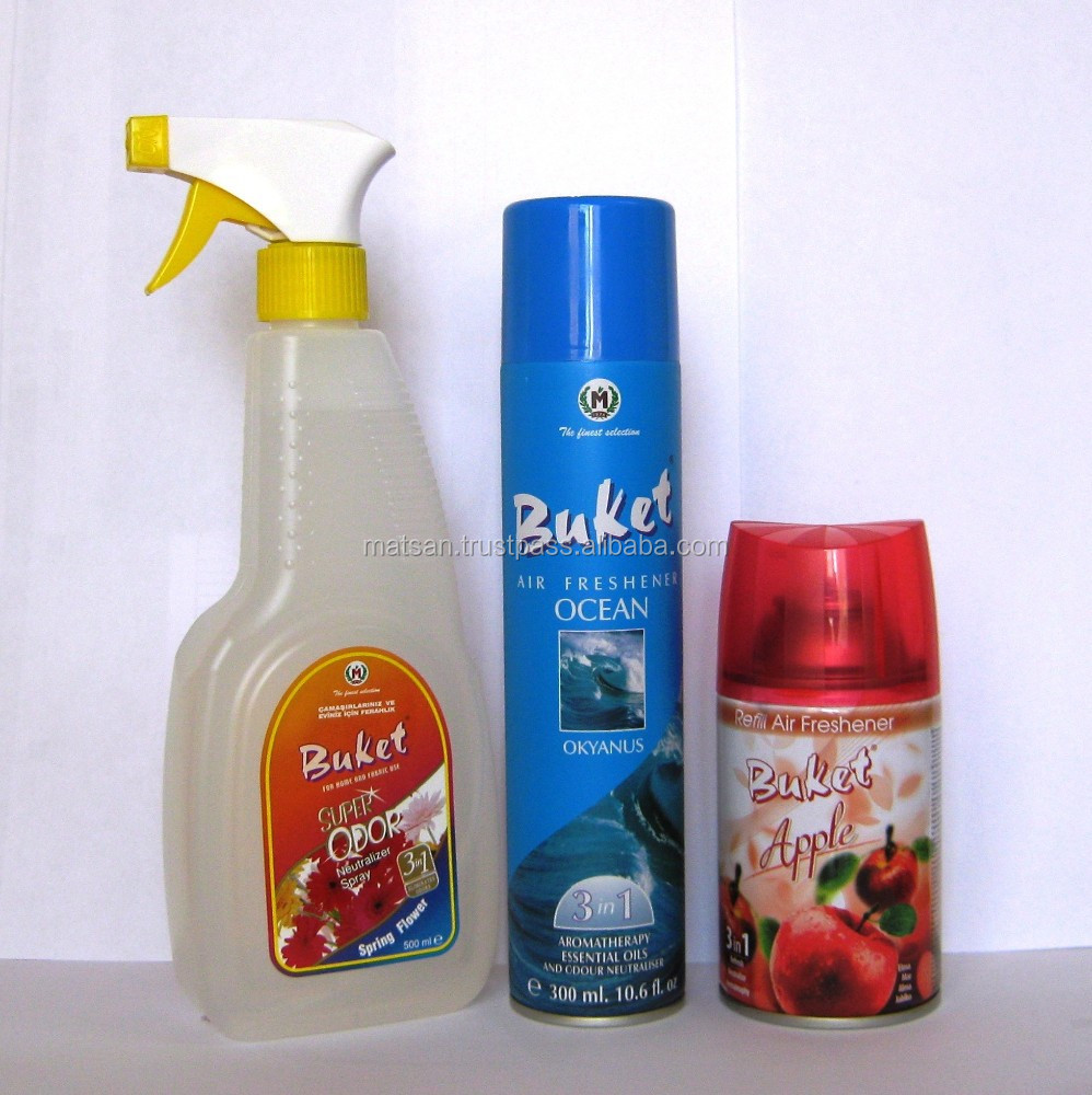 Fabric freshener spray