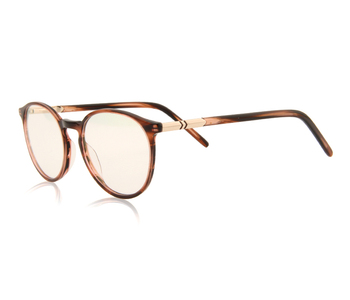 High quality round ultra thinner acetate glasses frame