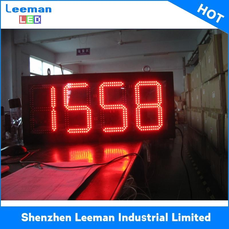 Big 6 digit 7 segmenti display a led per esterni led tabellone elettronico P2 led display 512x512