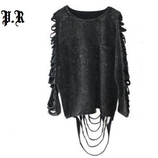 Compra ropa punk rock online al por mayor de China