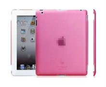 Pink Matte Hard Back Case Cover for Apple iPad 2 for New iPad for ipad 3