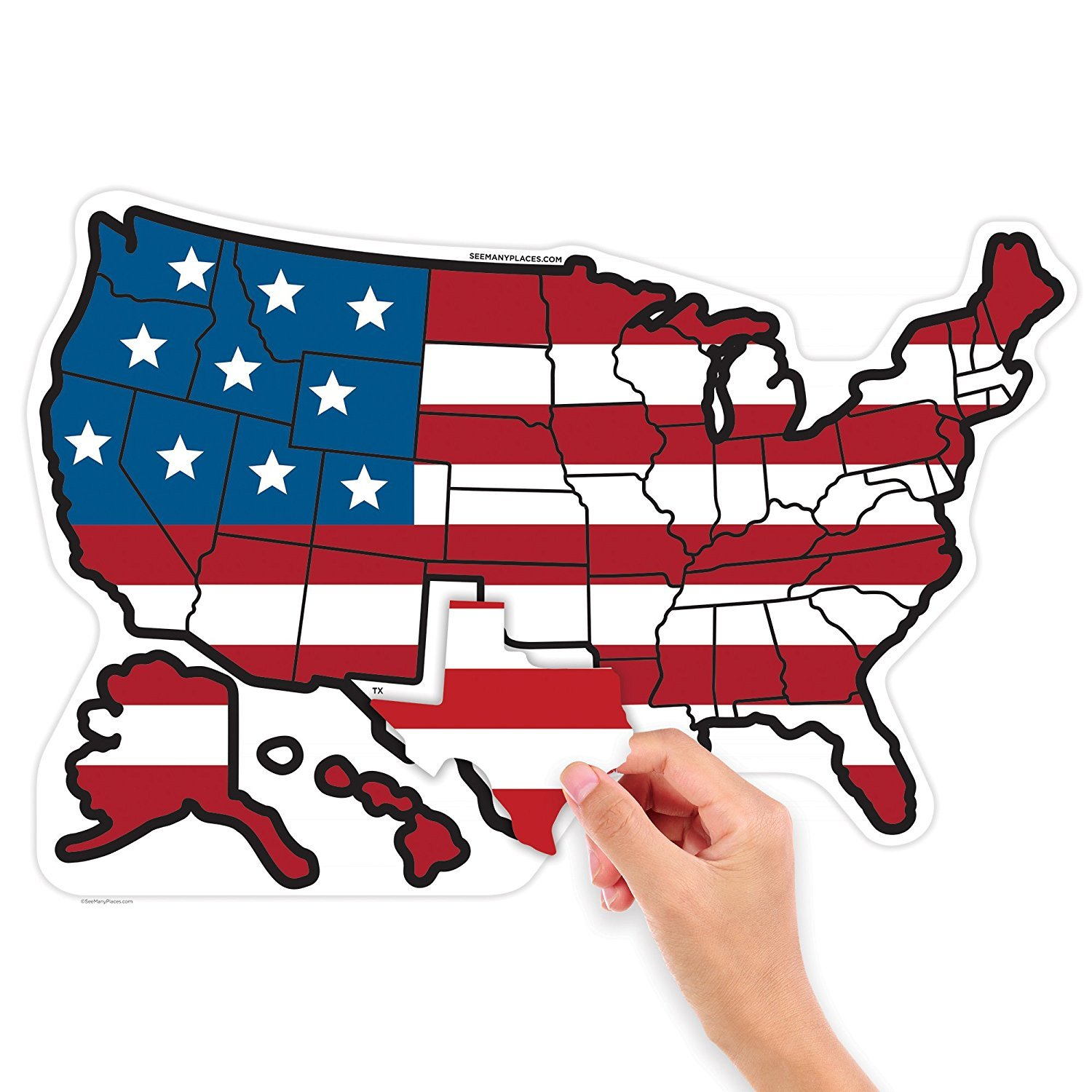 Collectibles RV State Stickers United States Travel Camper ...