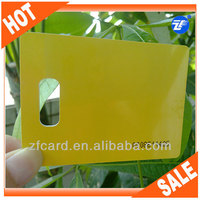 High quality plastic pvc id card for credit card size