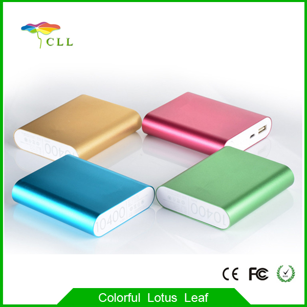 Factory Supplier Mobile Power Bank 10400mAh Fashion 2016 Power Bnak 10400mAh, Xiao Mi Power Bank for Mobile