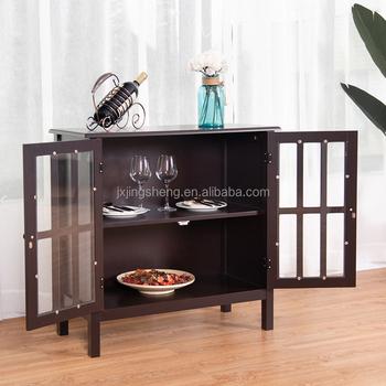 Wooden Glass Door Display Cabinet Kitchen Room Furnitures For Miami - Buy  Kitchen Room Furnitures,Kitchen Furniture,Wooden Glass Door Display Cabinet  ...