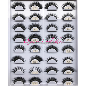 New Styles 3D Mink False Eyelashes Top Quality Custom Lashes Packaging Mink Lashes