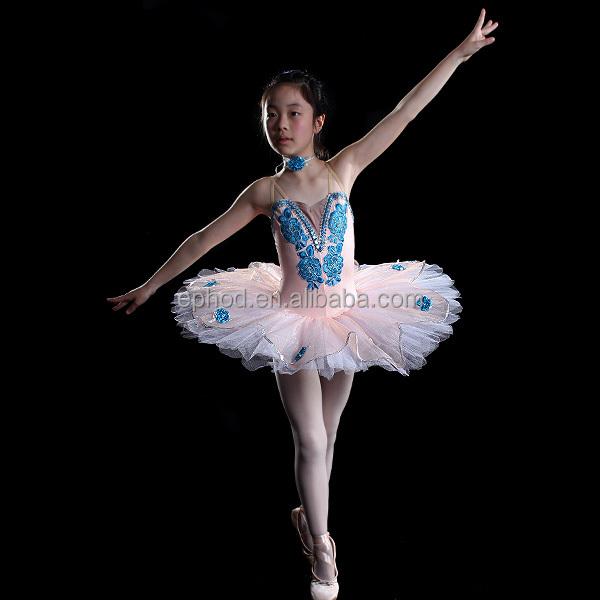 f1cb97474 Efod 2016 profesional de ballet tutu para niñas/niños danza de la etapa  traje EPBL