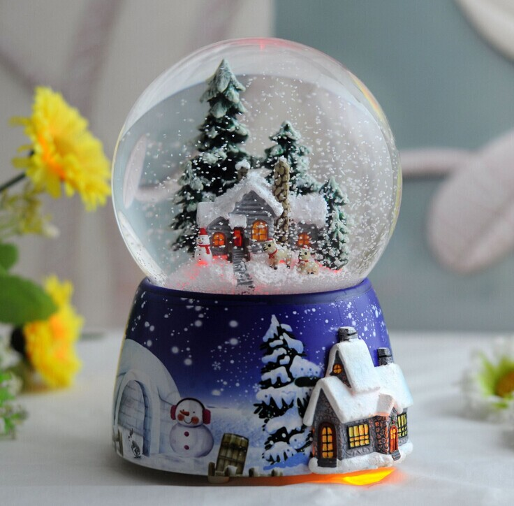 2018 Christmas Photo Snowball Snow Globe Buy Christmas