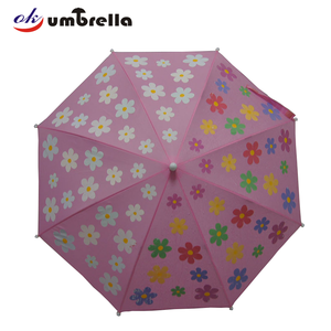Factory Flower Inside Changing Color Welcome Umbrella for Kids