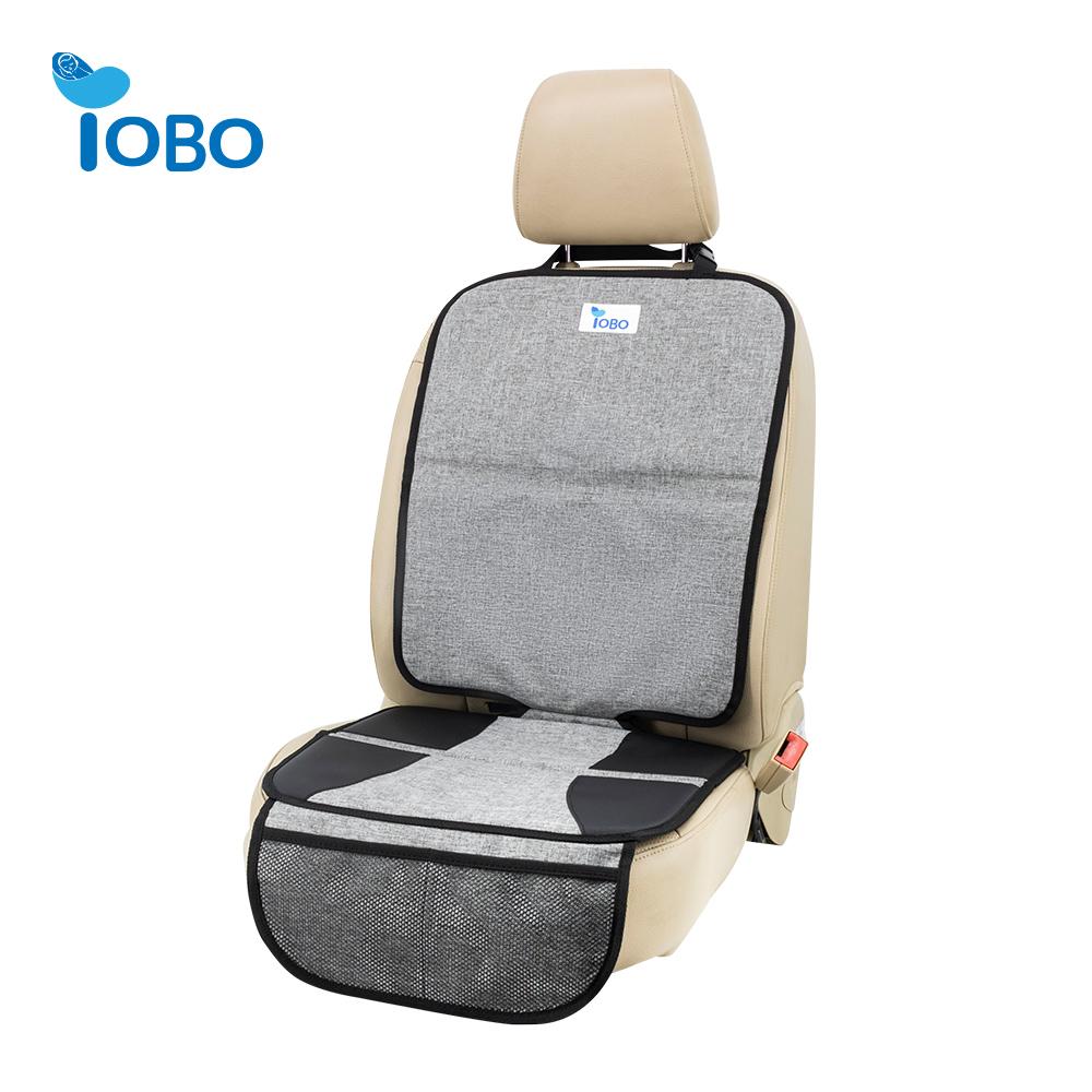 Oxford no-slip seguro Durable volver reforzado con acolchado grueso Auto impermeable niño bebé Protector de asiento de coche para el coche suv maletero