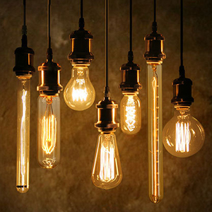 Professional Factory Supply E27 decorative Retro Bulb various Lamp Light ST64 A19 G95 G80 G125 vintage Edison Bulbs