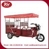 solar electric tricycle for passengers