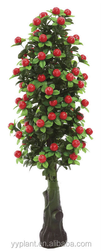 hot selling Artificial Red Apple Tree--model 0199