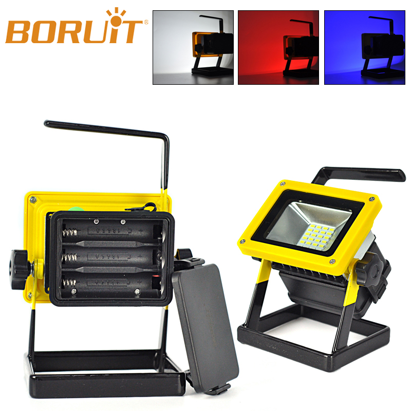 Outdoor Rechargeable Floodlight Project Lamp 10w Led Flood Light