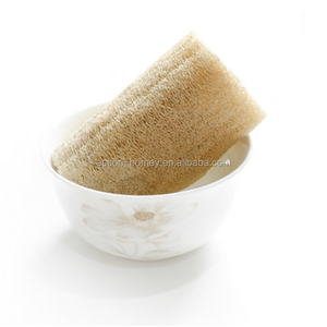 100% No Chemical Natural Kitchen Dish Cleaning /Washing Filter Loofah Sponge