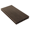 Seaside platform elliptical hole wood plastic composite decking