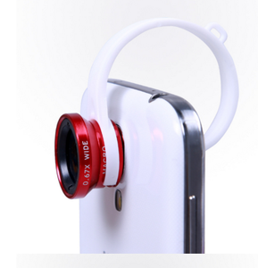 hot selling 360 degree projector 3 in 1 wide angle smartphone fisheye lens
