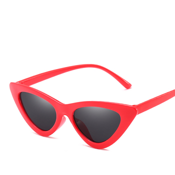 cheap customer logo sun glasses multi color uv400 Cat Eye Fashion sunglasses for women
