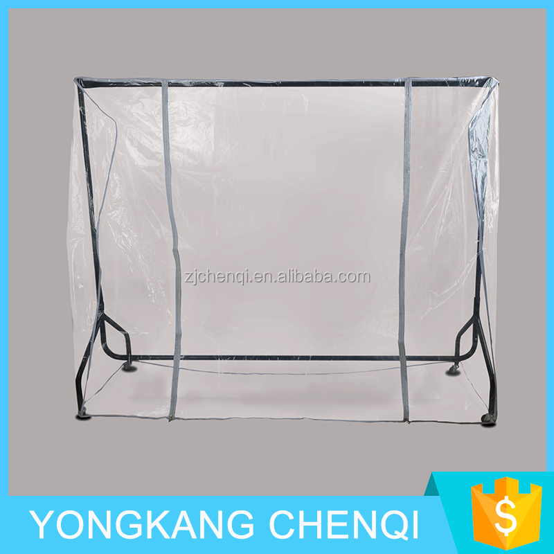 Clear Clothes Rail Cover Hanging Garment Coat Hanger Dry Cleaning