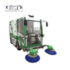 S2000 compact street sweeper gas powered street washing machine