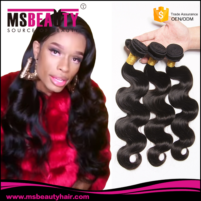Msbeauty China wholesale distributors top grade 100% real virgin brazilian human hair weave extension