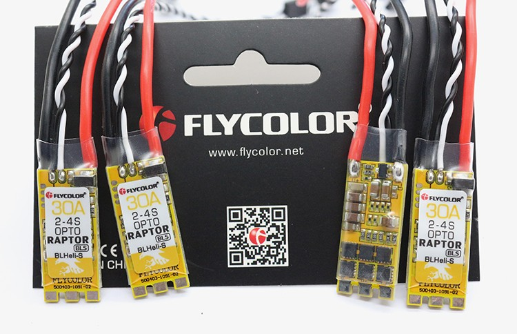 New products!Blheli-S ESC Flycolor Raptor BLS 30A ESC for FPV Racing Drone