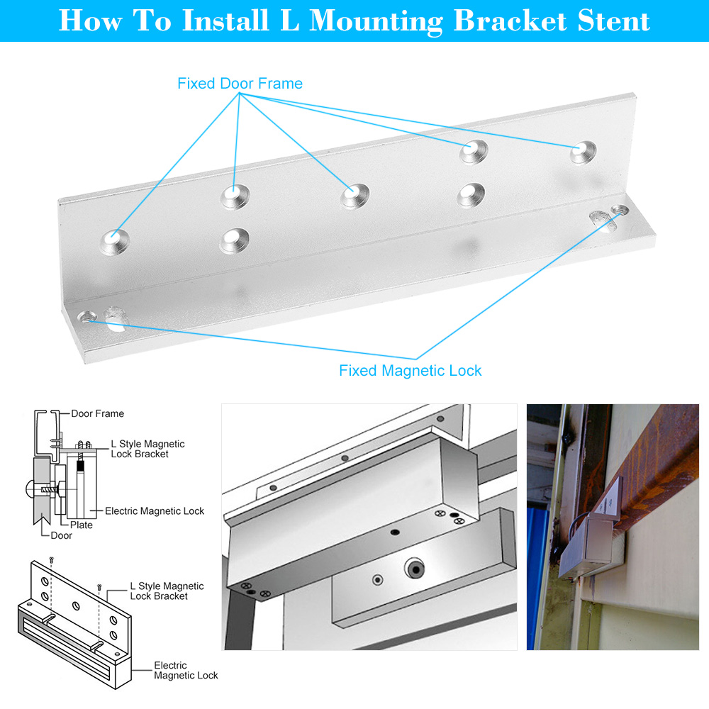 Flush Mount 180kg 12v Built-in Concealed Electric Magnetic Electromagnetic Lock For Door Gate Access Spare No Cost At Any Cost Back To Search Resultssecurity & Protection