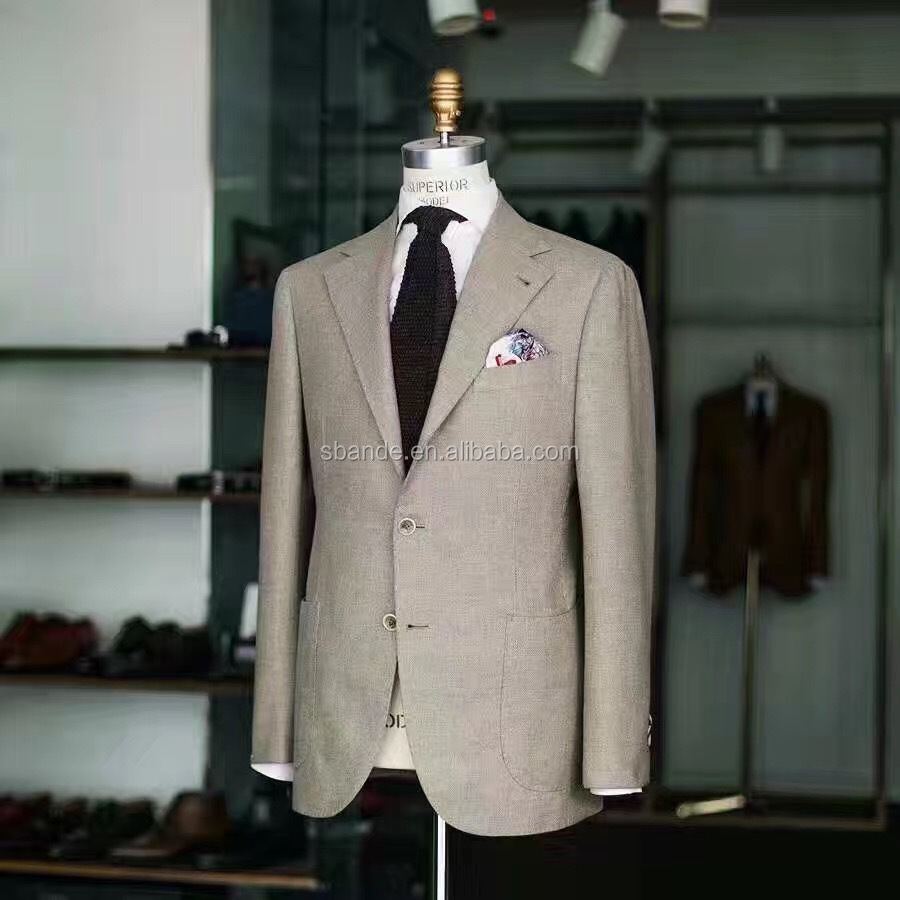 2017 top quality tailor made suit, new fashion custom made suit for men
