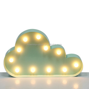 19L warm white LED innovative souvenirs cloud light