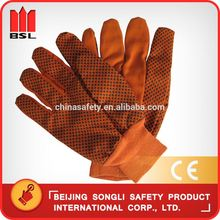 low price mining cotton lined latex safety gloves