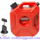 3L Portable Jerry Can Gas Plastic Fuel Tank Petrol ATV UTV Motorcycle/Car