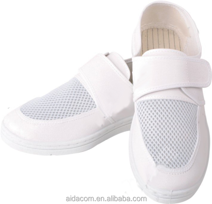 ESD shoes, 4 holes shoes pu/pvc anti static shoes