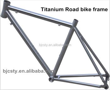 Hot Sale Titanium Road Bike Frame