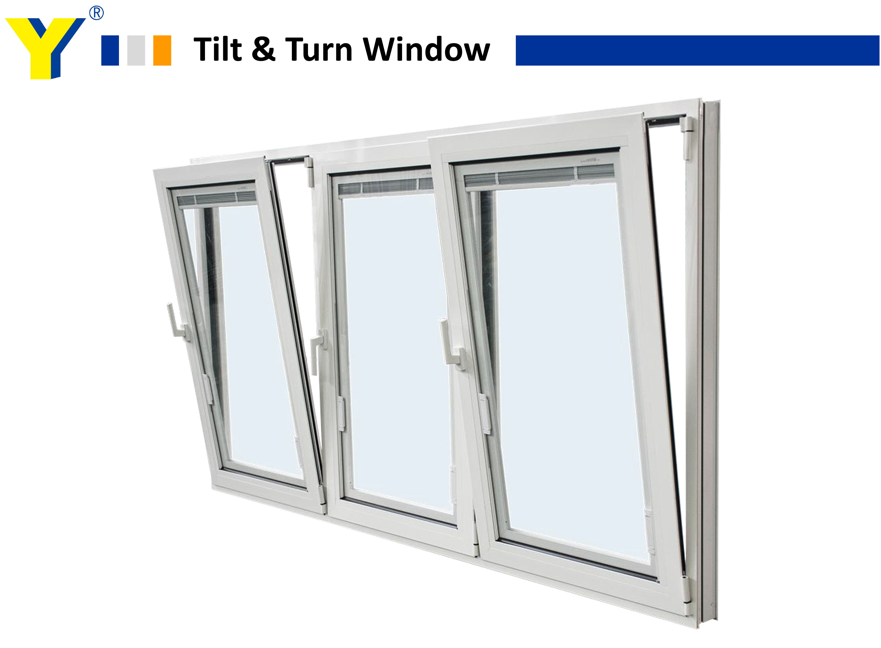 Aluminium Awning Window from YY specialised in Energy efficient aluminium double glazed windows & doors