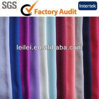 Fashionable Plain Coloured Dyed Polyester Fabric